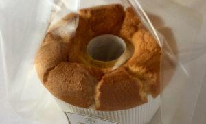 八王子たまごを使ったこじまファームのシフォンケーキ